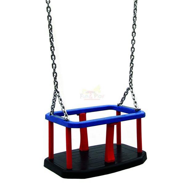 Hustawka Ogrodowa Dla Dzieci Siedzisko :  wysoka podwójna ( jedno siedzisko kubełkowe + jedno standard
